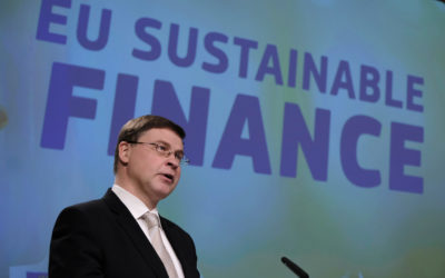 The EU adopts a sustainable finance package to encourage investments in greener technologies within the maritime sector